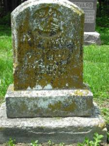 William B Sanders gravestone