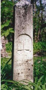 Joseph Belew gravestone