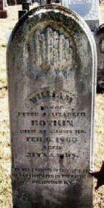 William Botkin gravestone