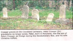 Creager gravestones