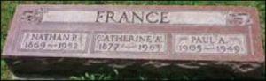 France gravestone