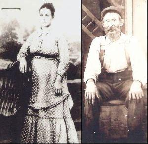 Julia Grindle and William Bryant