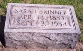 Sarah McCoy gravestone