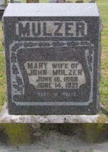Anna Mary Lottes gravestone
