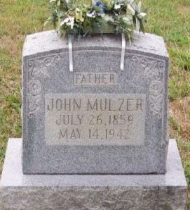 Johann Mulzer gravestone