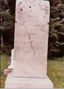 John Nicholson gravestone