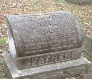 Alexander O'Neill gravestone