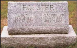 Rev. Philip Wolfgang Polster gravestone