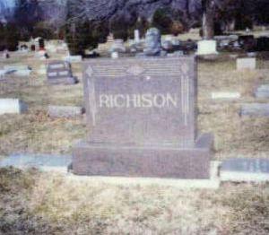 Richison gravestone