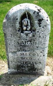 Sarah Robbins gravestone