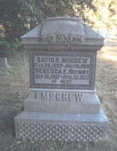 Rebecca Ellen Saltsgiver gravestone
