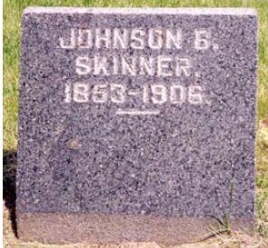 Johnson Skinner gravestone