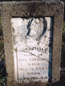 Permelia Skinner gravestone