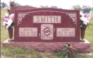 James Ezra Smith gravestone