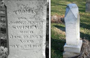 Thomas Swiney gravestone