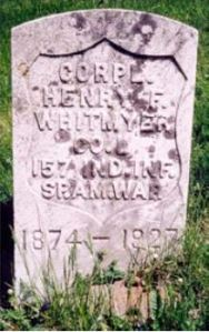 Henry Whitmyer gravestone