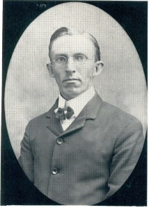 James Stafford on his Wedding Day