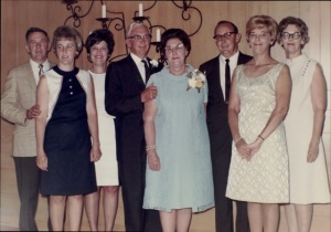 Archie and Lillian's 50th Wedding Anniversary, 1969, Escanaba, MI